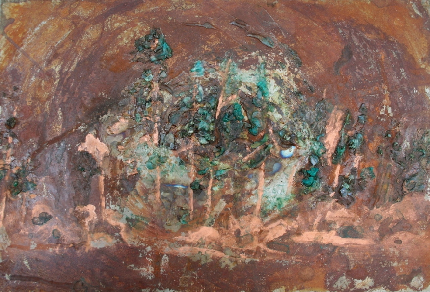 Copper Patina Forest